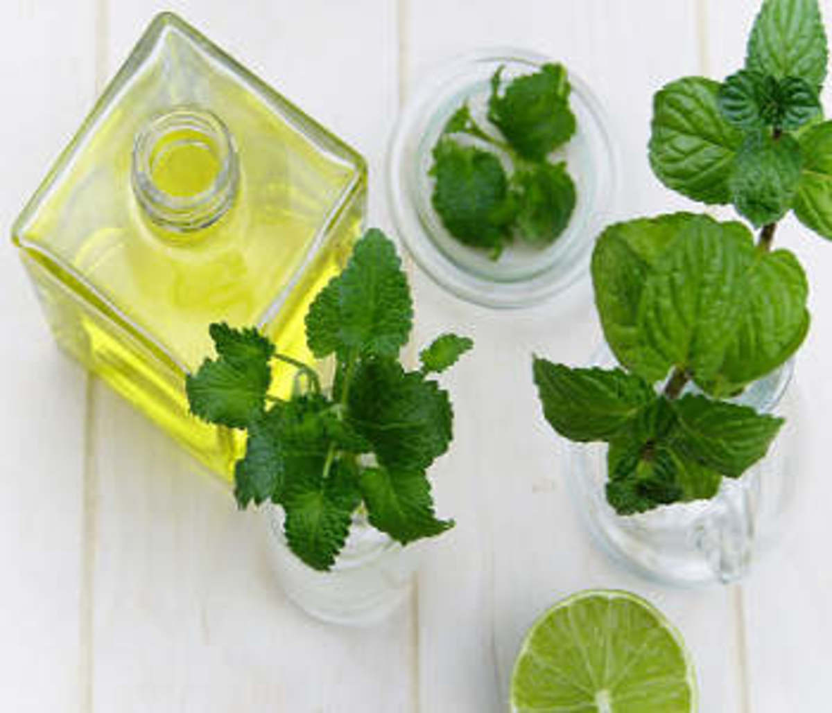 Tea tree oil helps dry up pimples when used in peel off masks.