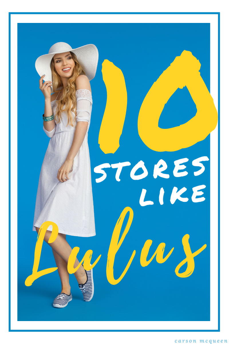 10 Stores Like Lulus: Fantastic Finds at Cheap Prices