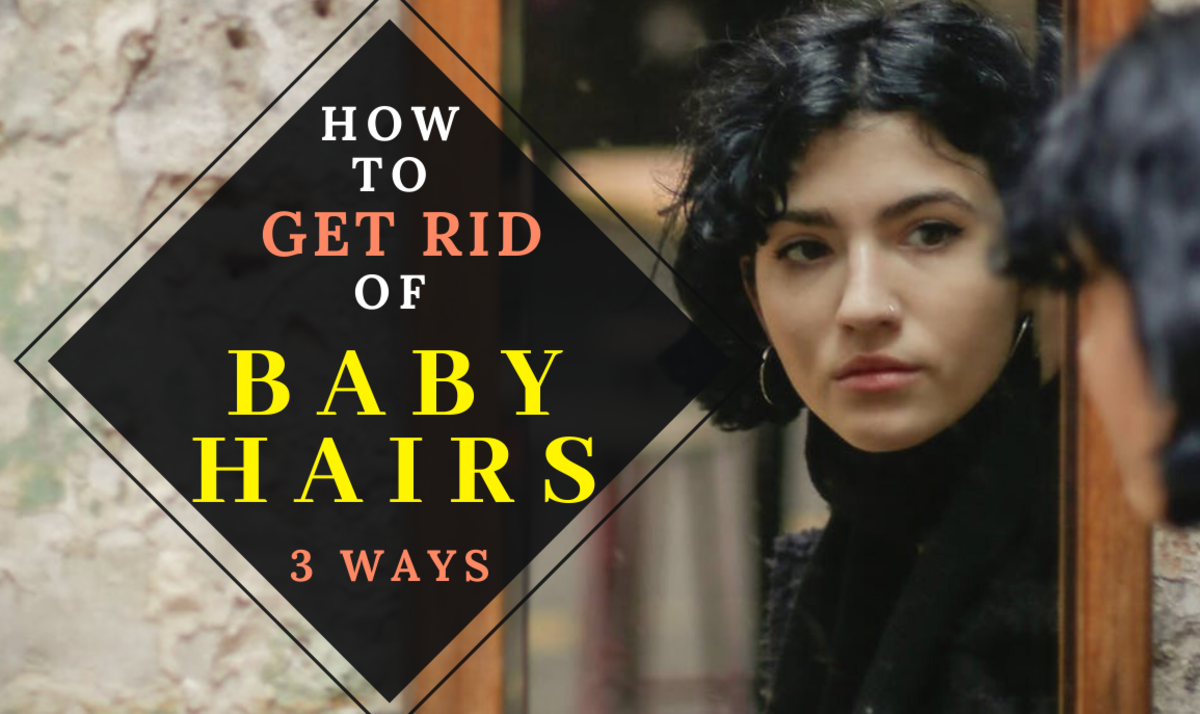 3 Ways to Get Rid of Baby Hairs