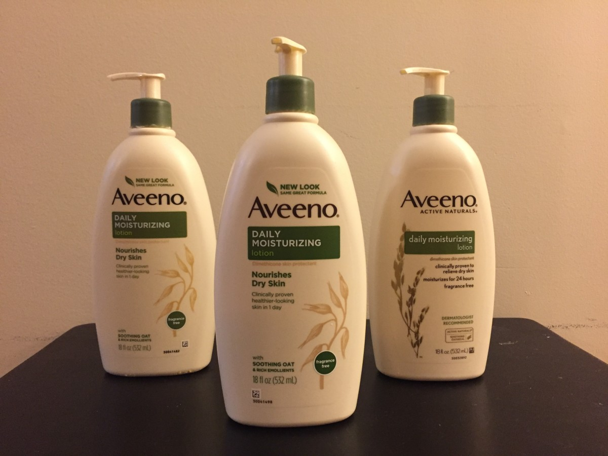 Aveeno Daily Moisturizing Body Lotion with Soothing Oat and Rich Emollients