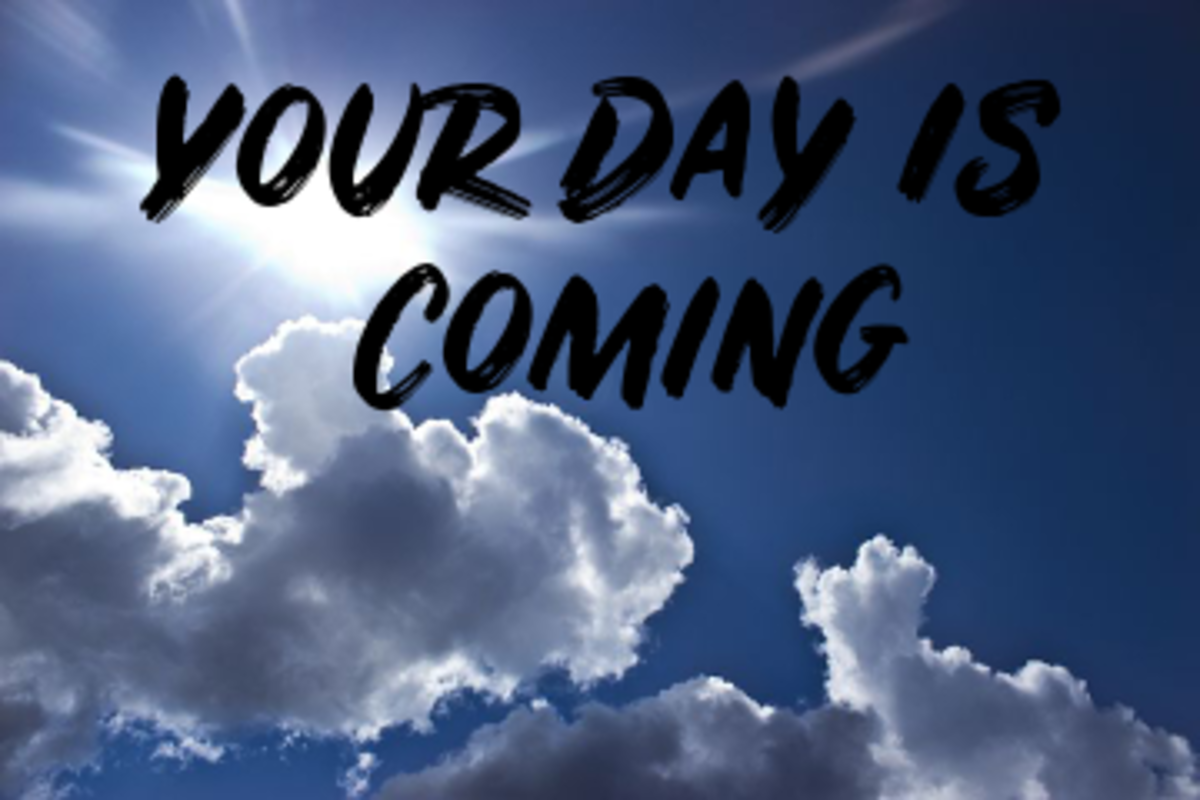 Poem: Your Day Is Coming