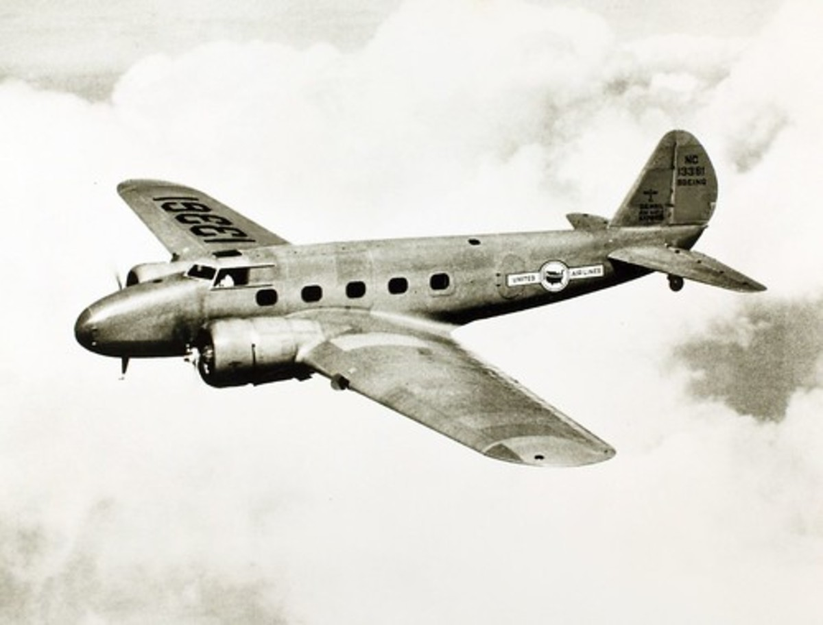 The Boeing 247.