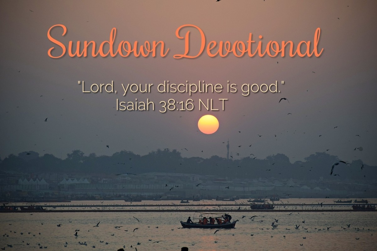 God's discipline is the kind that we can love.