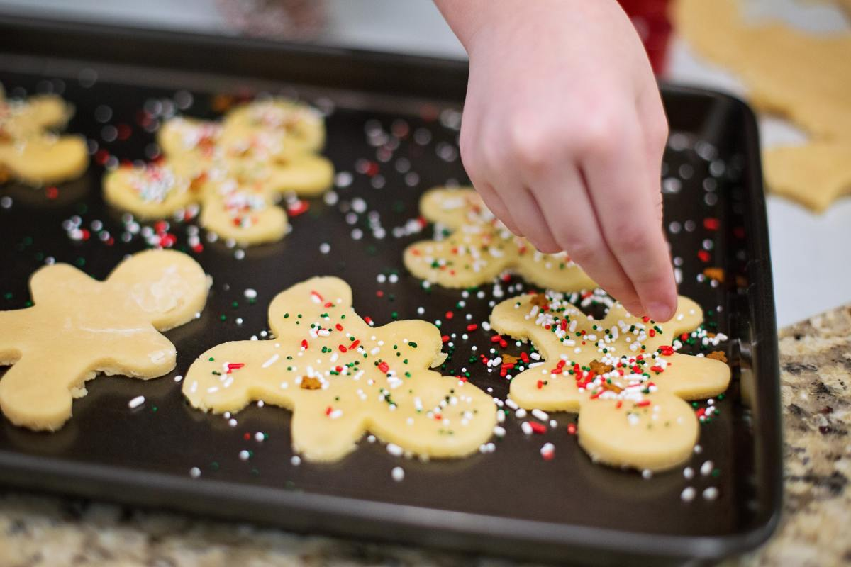Baking holiday cookies is a long-standing tradition!