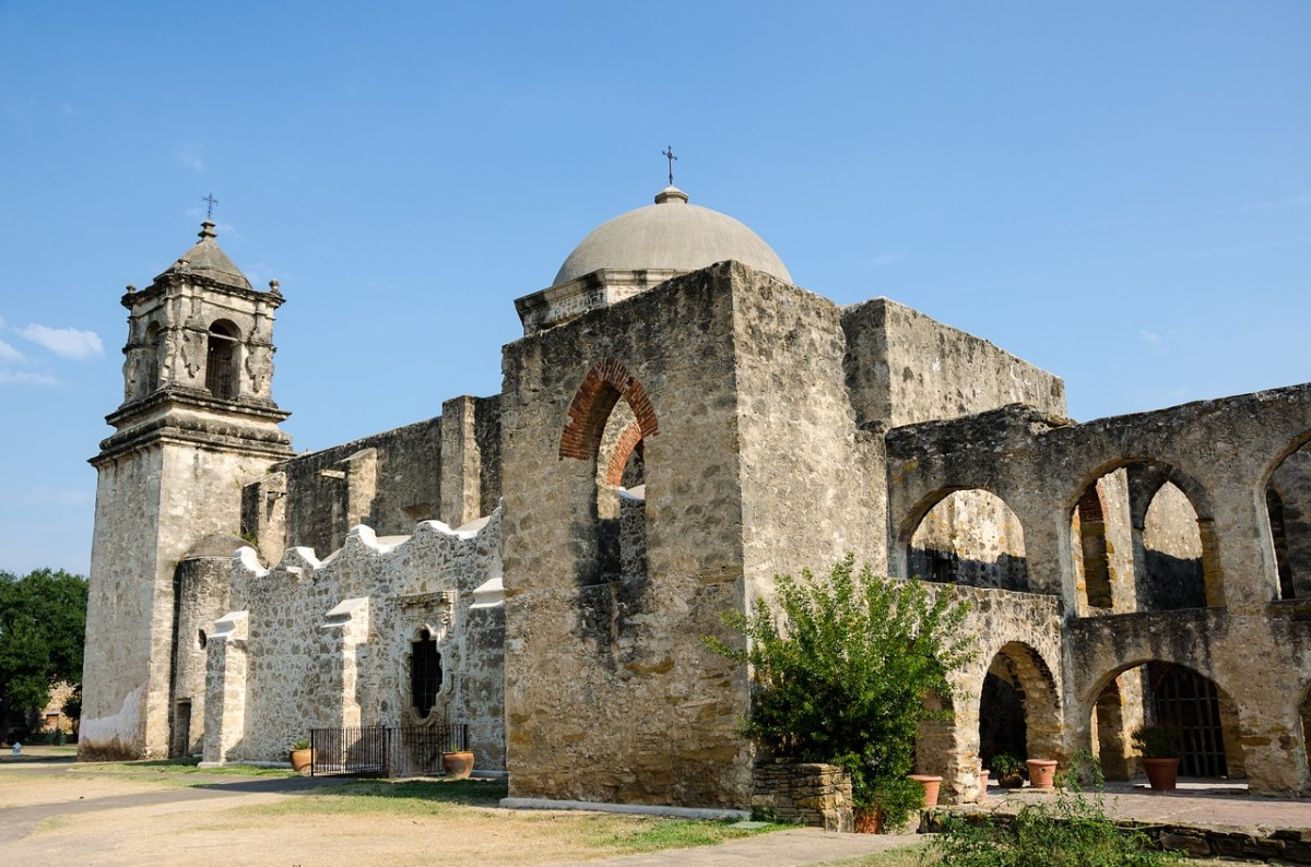 Visiting the Spanish Missions in Texas