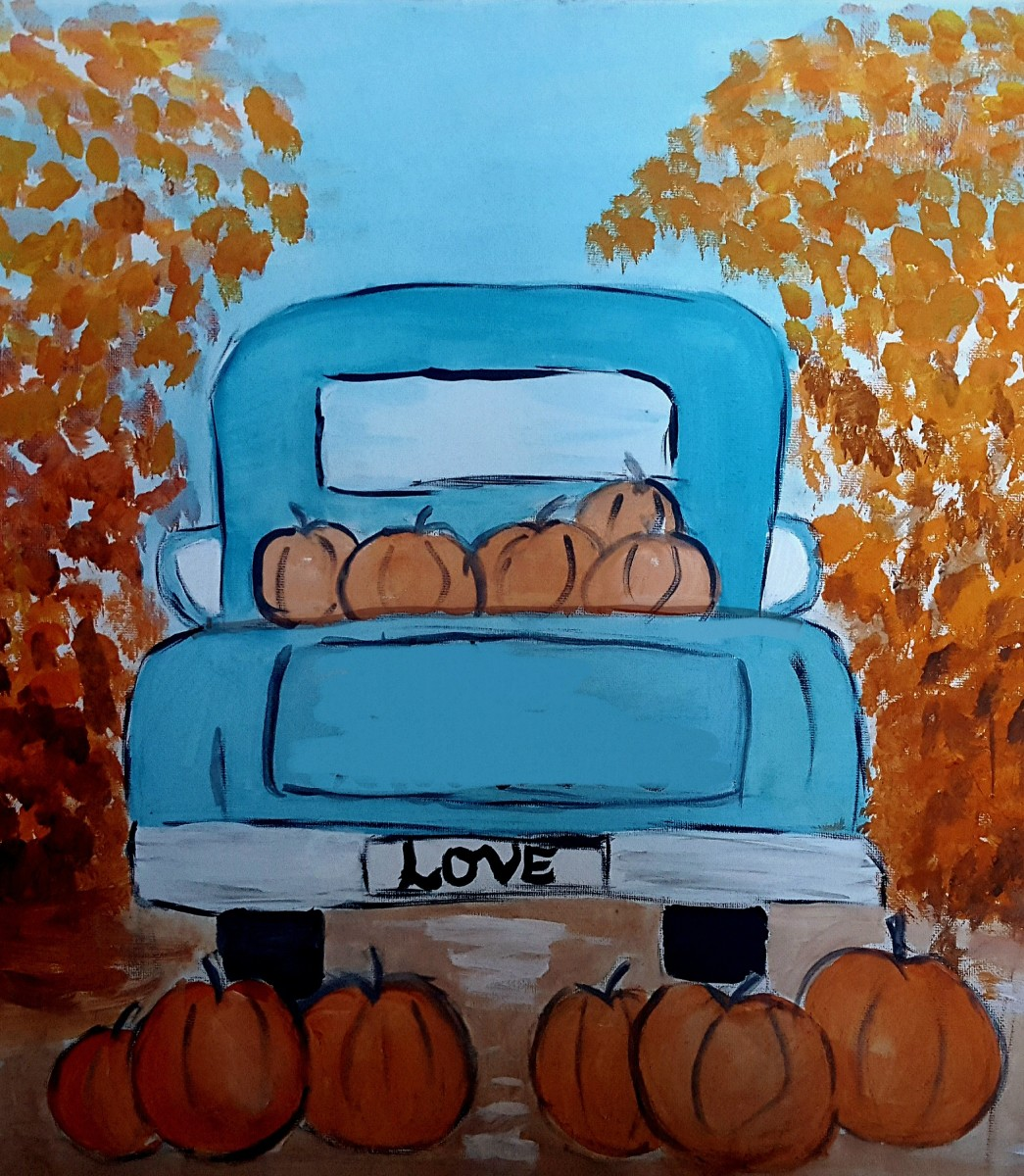 The Pumpkin Painting Party