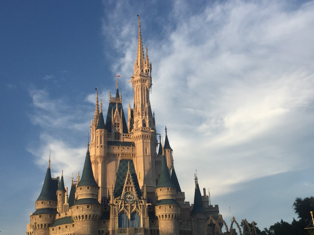 Cinderella's Castle at the Magic Kingdom in Florida
