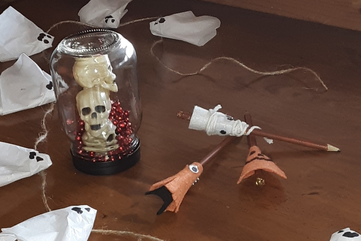 3 Fun and Spooky Halloween Crafts