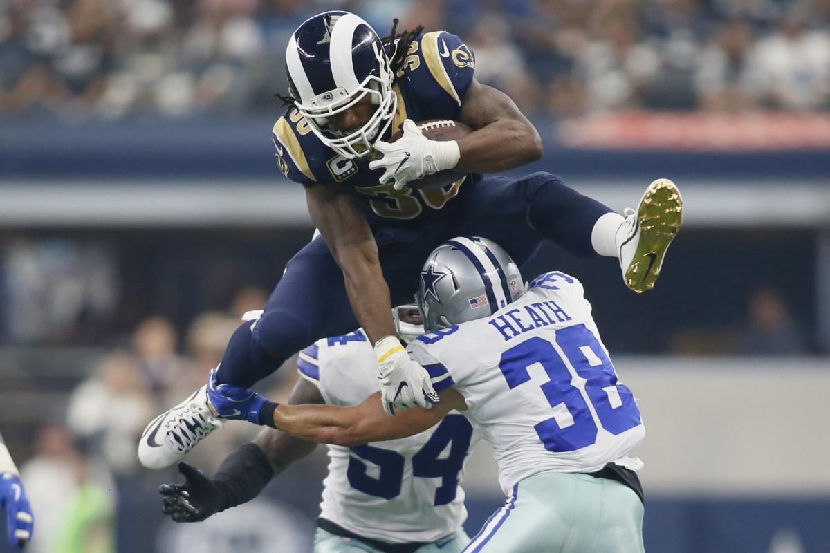 Top 10 Running Backs in Los Angeles Rams History