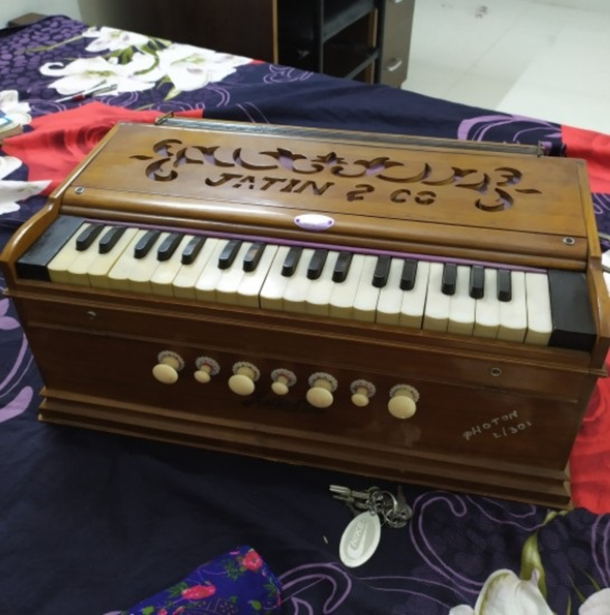A  Photo of My Harmonium