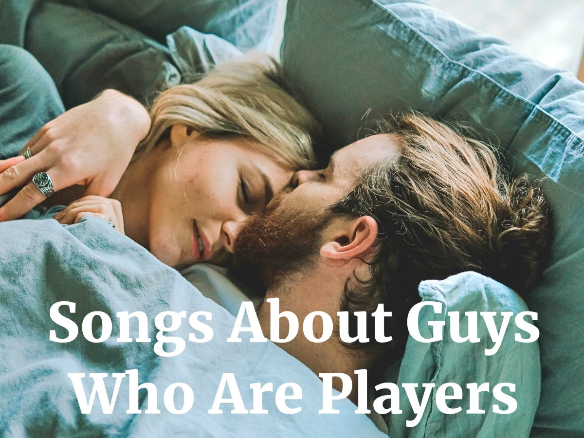 Players are heartbreakers who deceptively pursue several romantic partners at once. Make a playlist of pop, rock, country, and R&B songs about guys who are players.