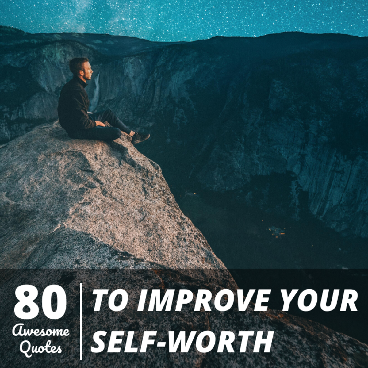 We can all be our own worst critic at times. These quotes can help you maintain a healthier perspective on yourself.