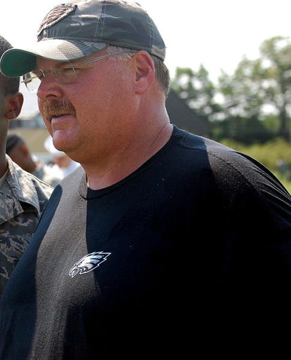 Former Philadelphia Eagles Coach Andy Reid
