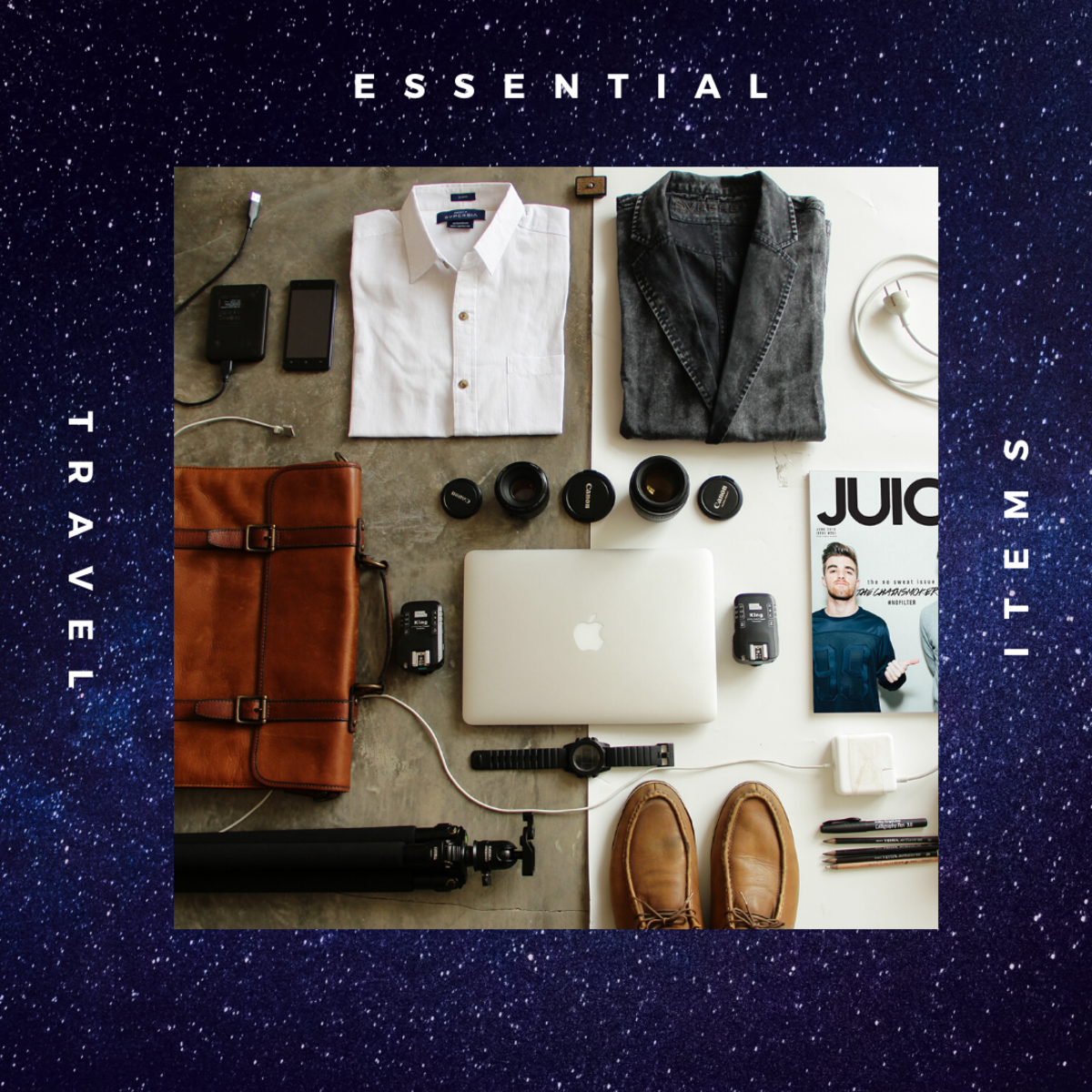 The Ultimate List of Essential Travel Items