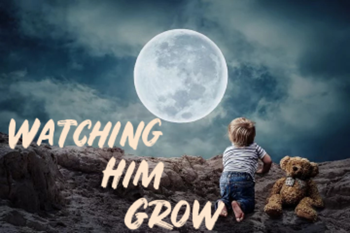 Poem: Watching Him Grow