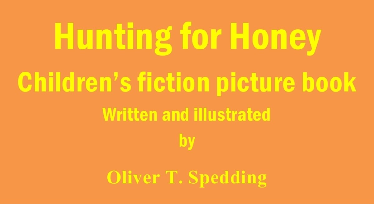 Hunting for Honey - children's fiction picture book