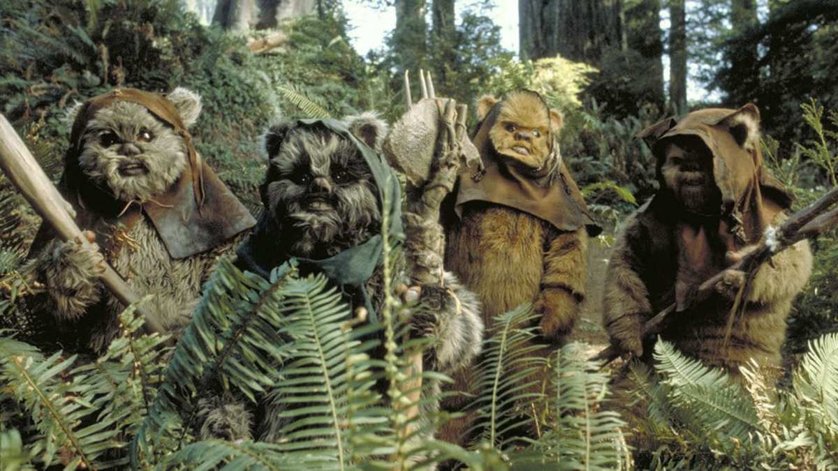 In Defense of Ewoks and 'Return of the Jedi'