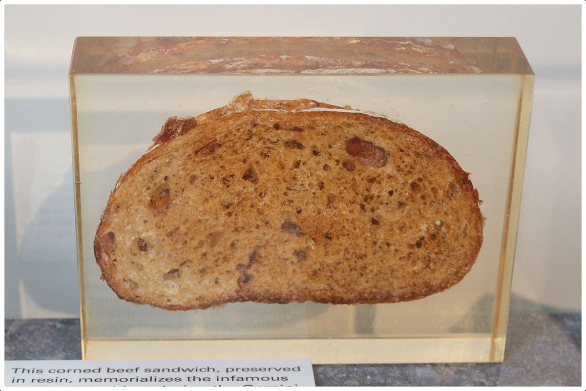 How the First Corned Beef Sandwich in Space Was Smuggled Aboard a NASA Space Flight