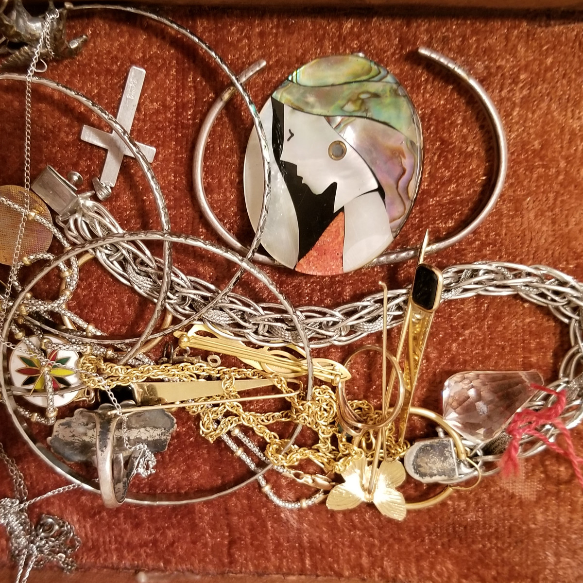 The dregs of fashions past will dwell forever in the tangled mess of the old jewelry box. This is no big deal if they weren't pricey to begin with!