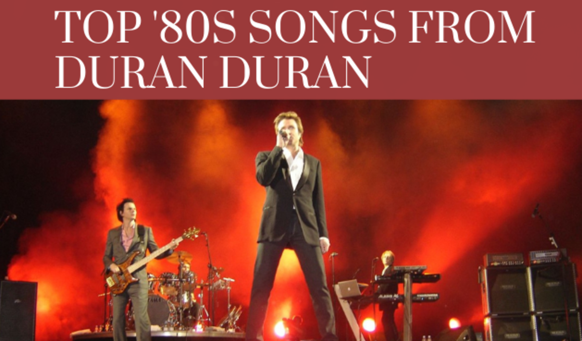Top Duran Duran Songs From the '80s