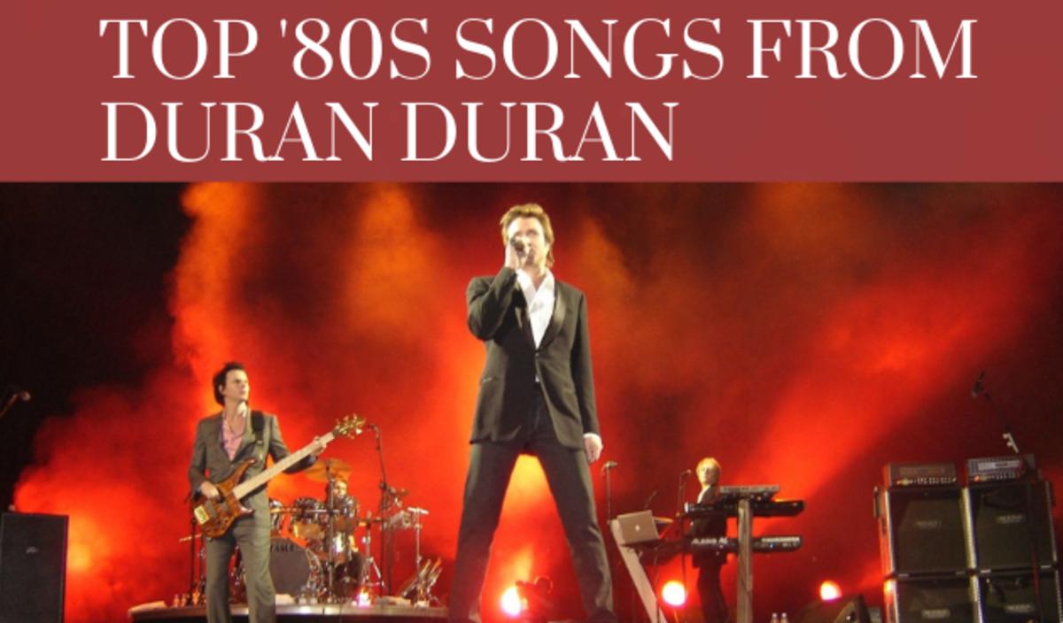 Duran Duran at the Scotiabank Arena, Toronto in April 2005.