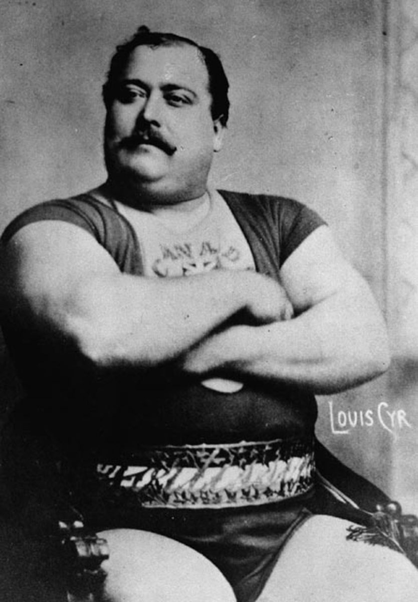 Louis Cyr in his prime.