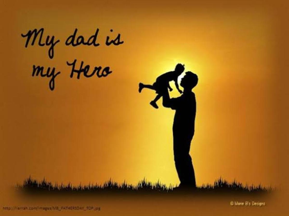 My first love,my Dad