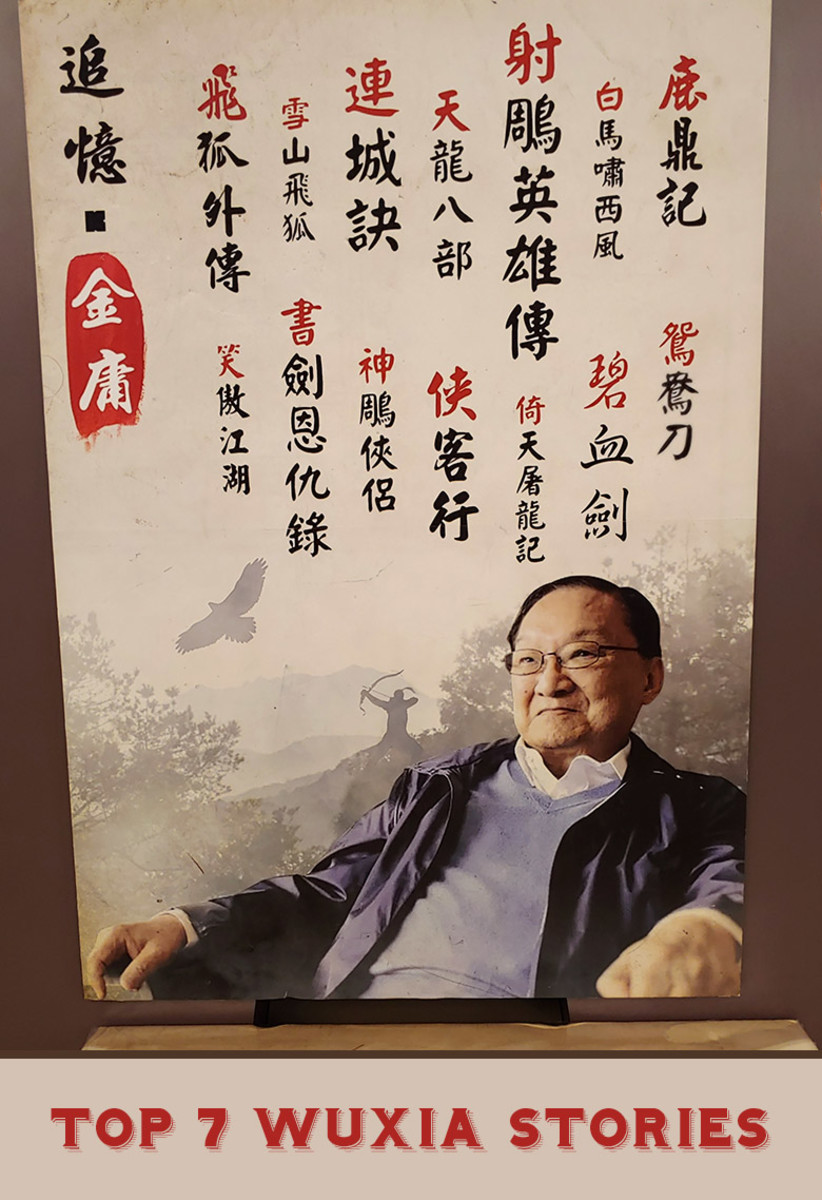 The late Jin Yong. Widely considered to be the most successful writer of Wuxia stories.