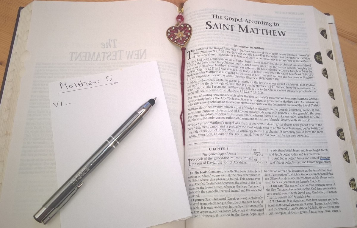 A Study of the Gospel of Matthew, Part 2, Including the Beatitudes and the Lord's Prayer