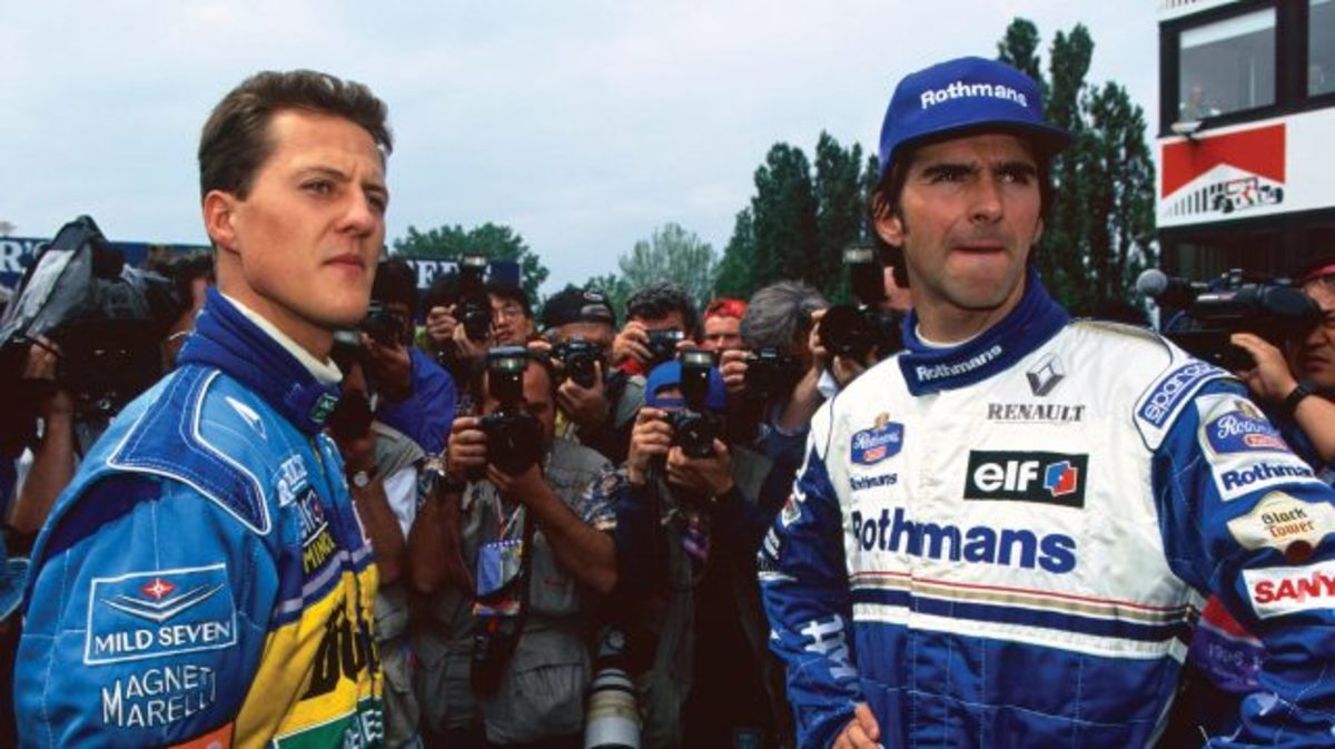 Michael Schumacher-Damon Hill Collision in 1994: Was It a Mistake?