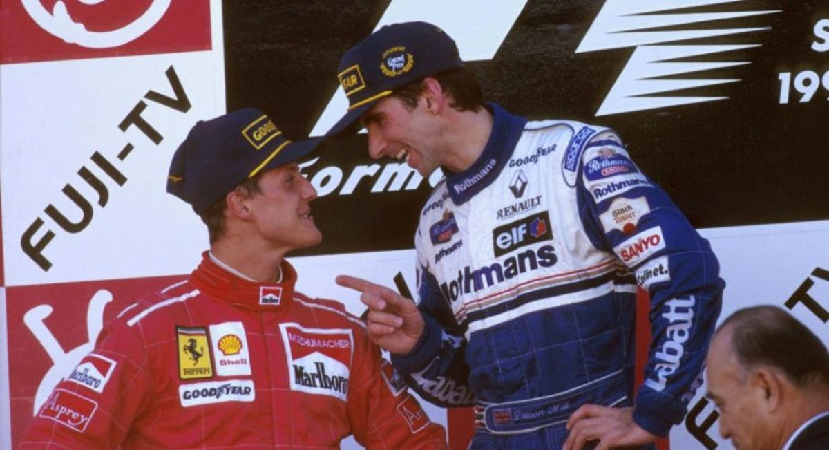 Michael Schumacher vs Damon Hill in the 1996 F1 Season