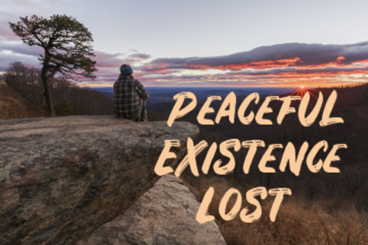 Poem: Peaceful Existence Lost