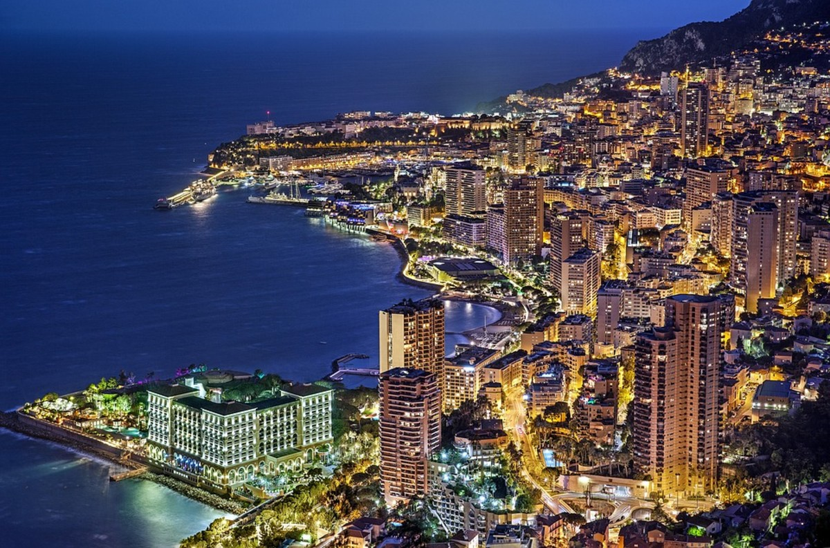 From Monaco's waves to its diamond-studded populace, it is truly a city that sparkles . . . at least from afar.