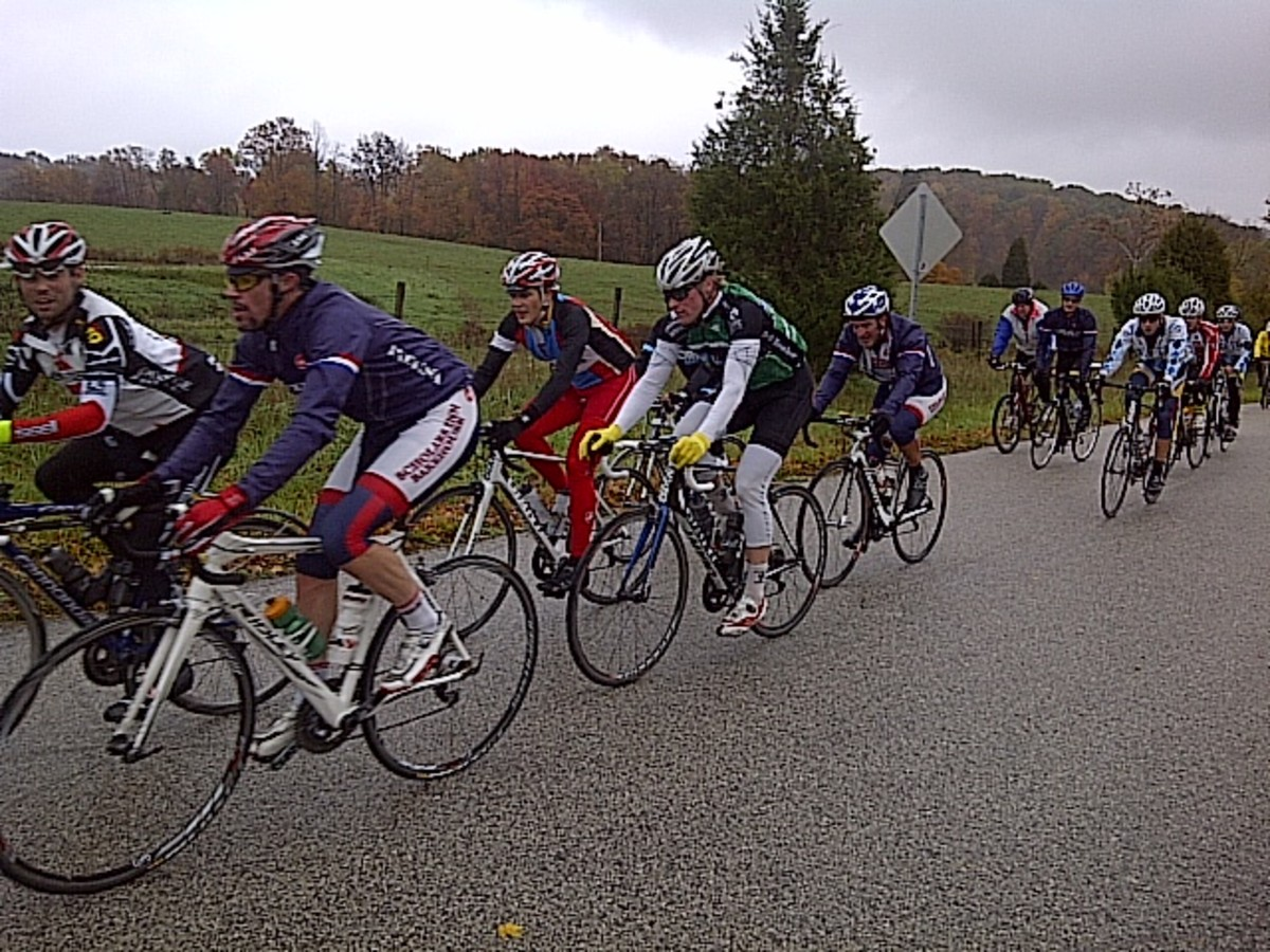 Indiana's Hilly Hundred Bicycle Tour