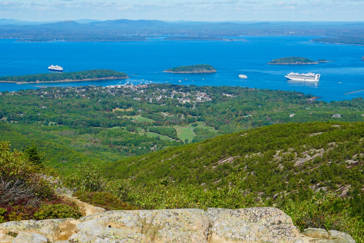 Bar Harbor and Frenchman Bay