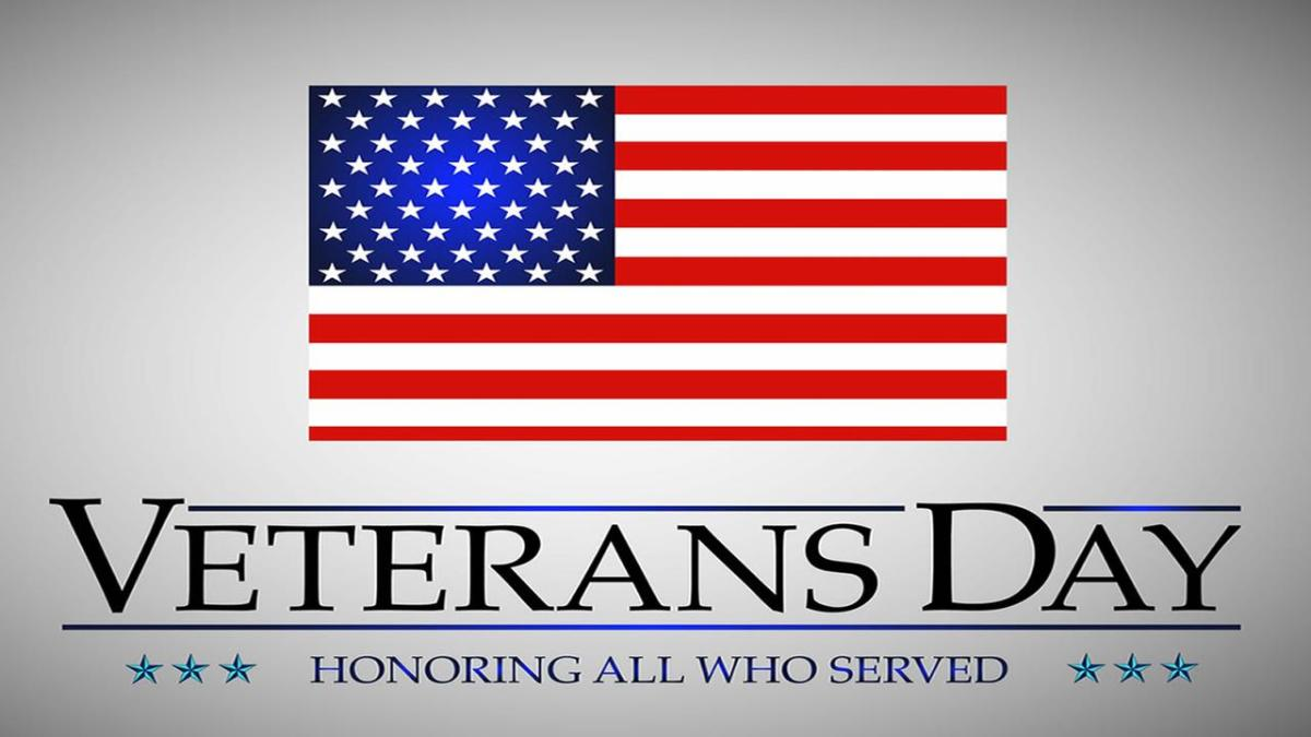 Veterans Day is celebrated annually in the U.S. on November 11th.