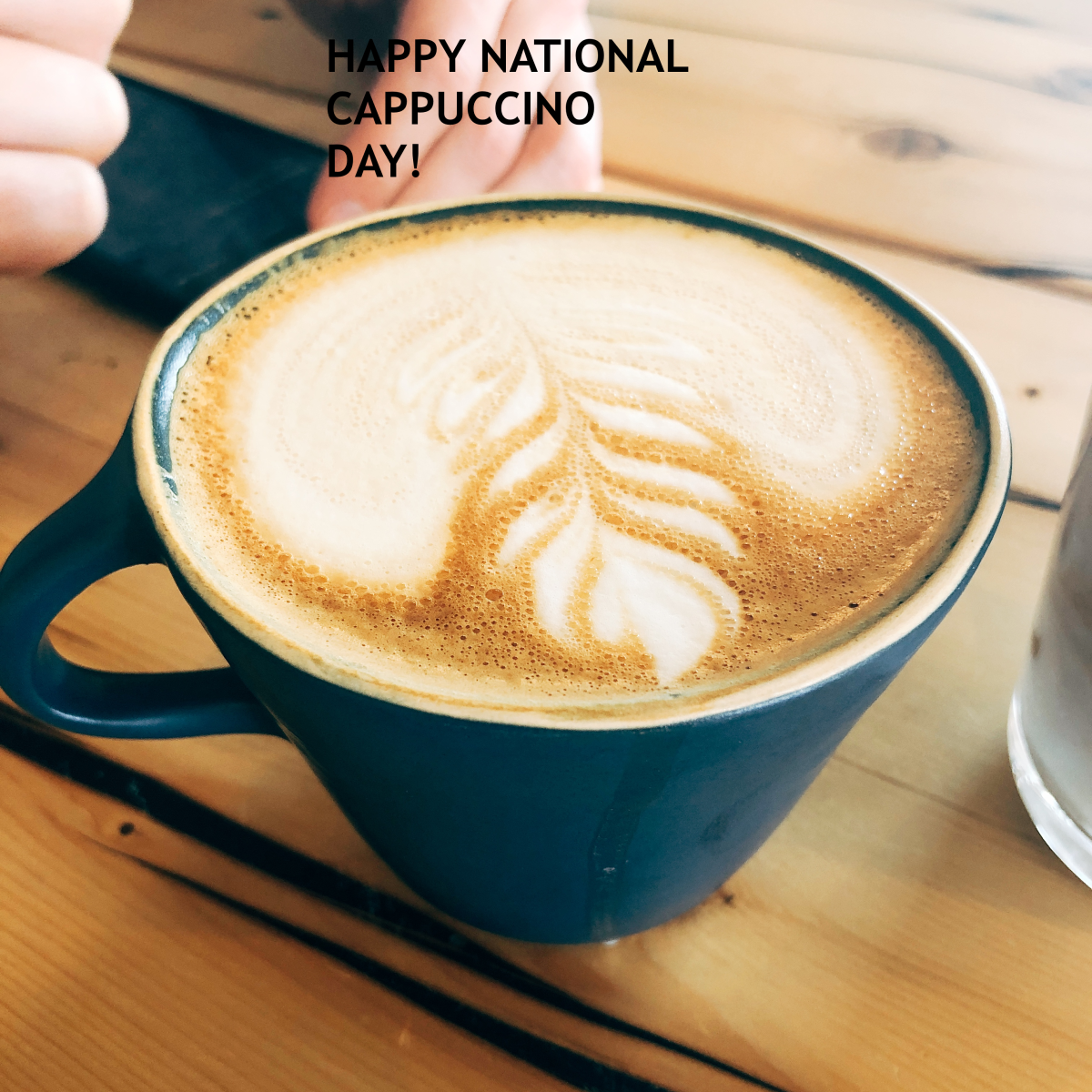 National Cappuccino Day is celebrated on November 8th in the US.
