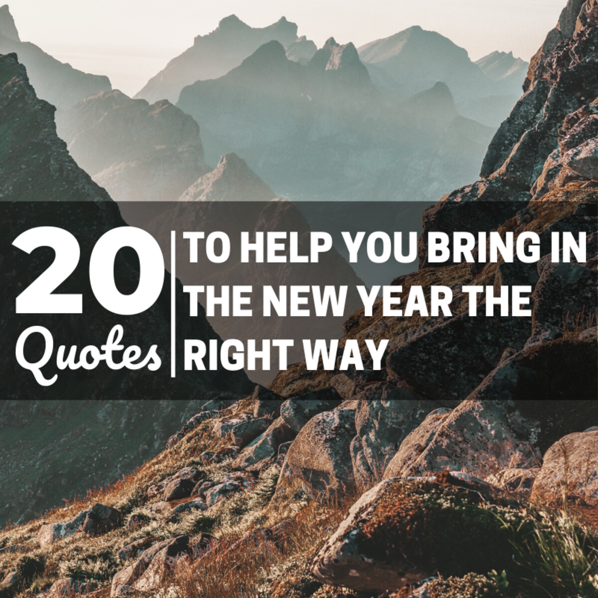 How do you want to usher in the new year?