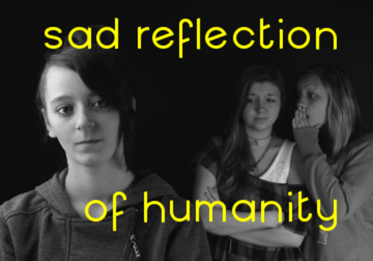 Poem: Sad Reflection of Humanity