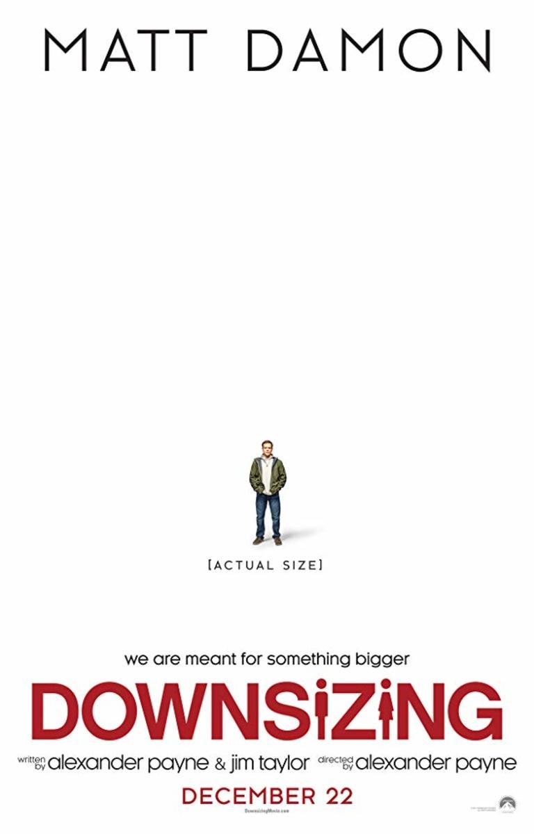 'Downsizing' Movie Review Starring Matt Damon