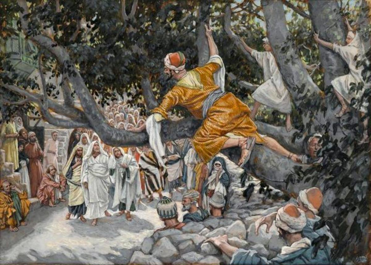 When Jesus stopped and looked up at Zacchaeus, then announced publicly He was going to the tax collectors home, Zacchaeus could hardly believe it.