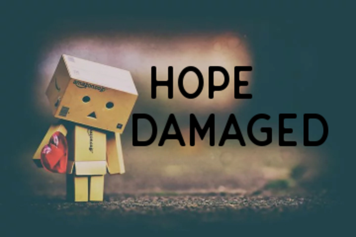 Poem: Hope Damaged