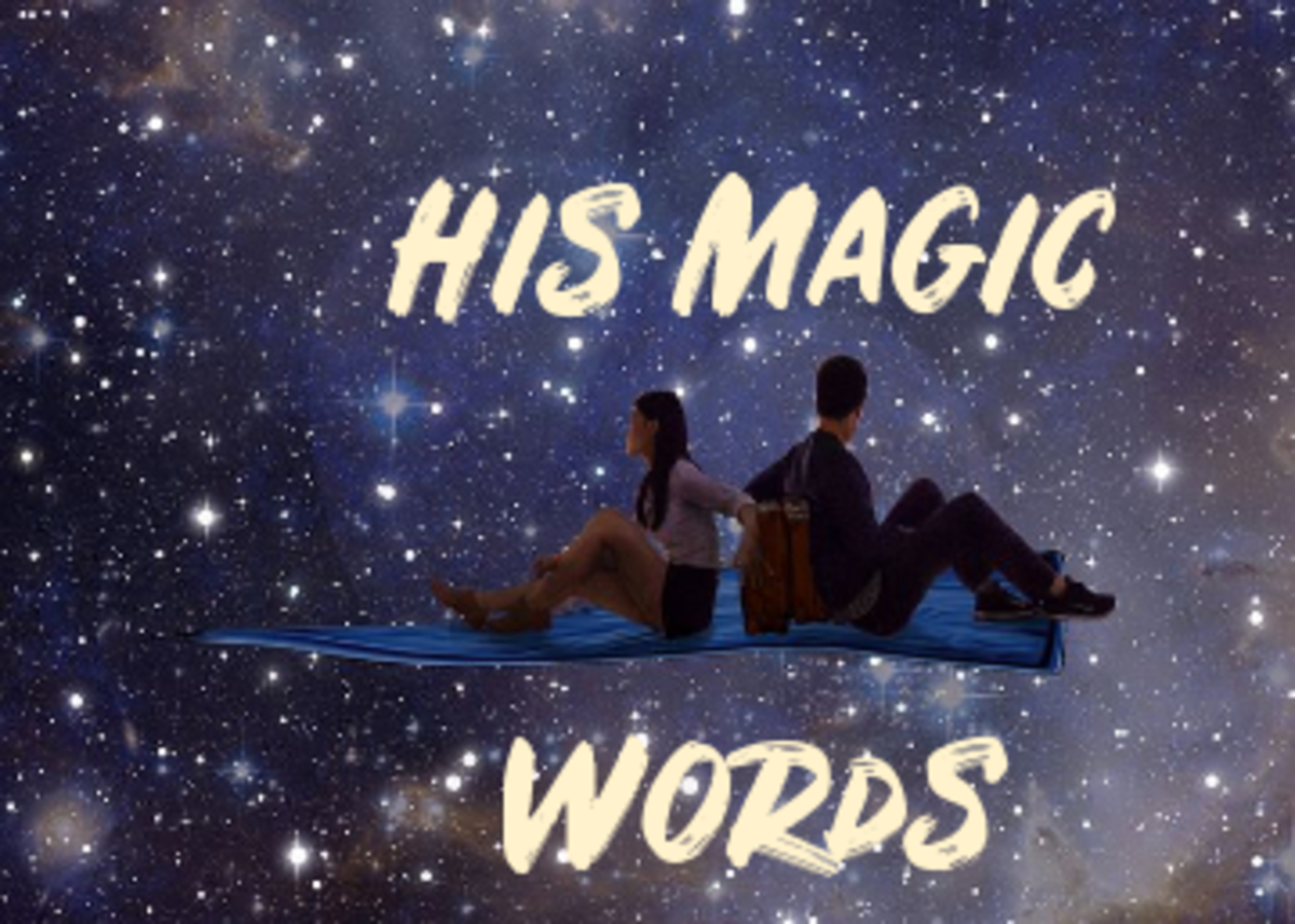 Poem: His Magic Words