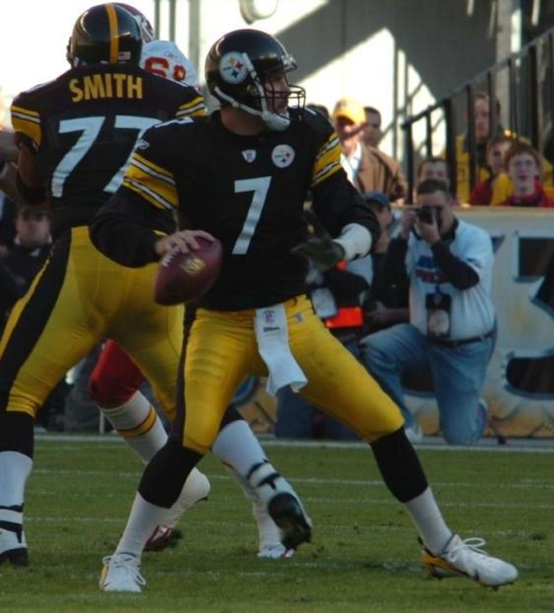 Ben Roethlisberger is one of the all-time greatest Steelers quarterbacks.