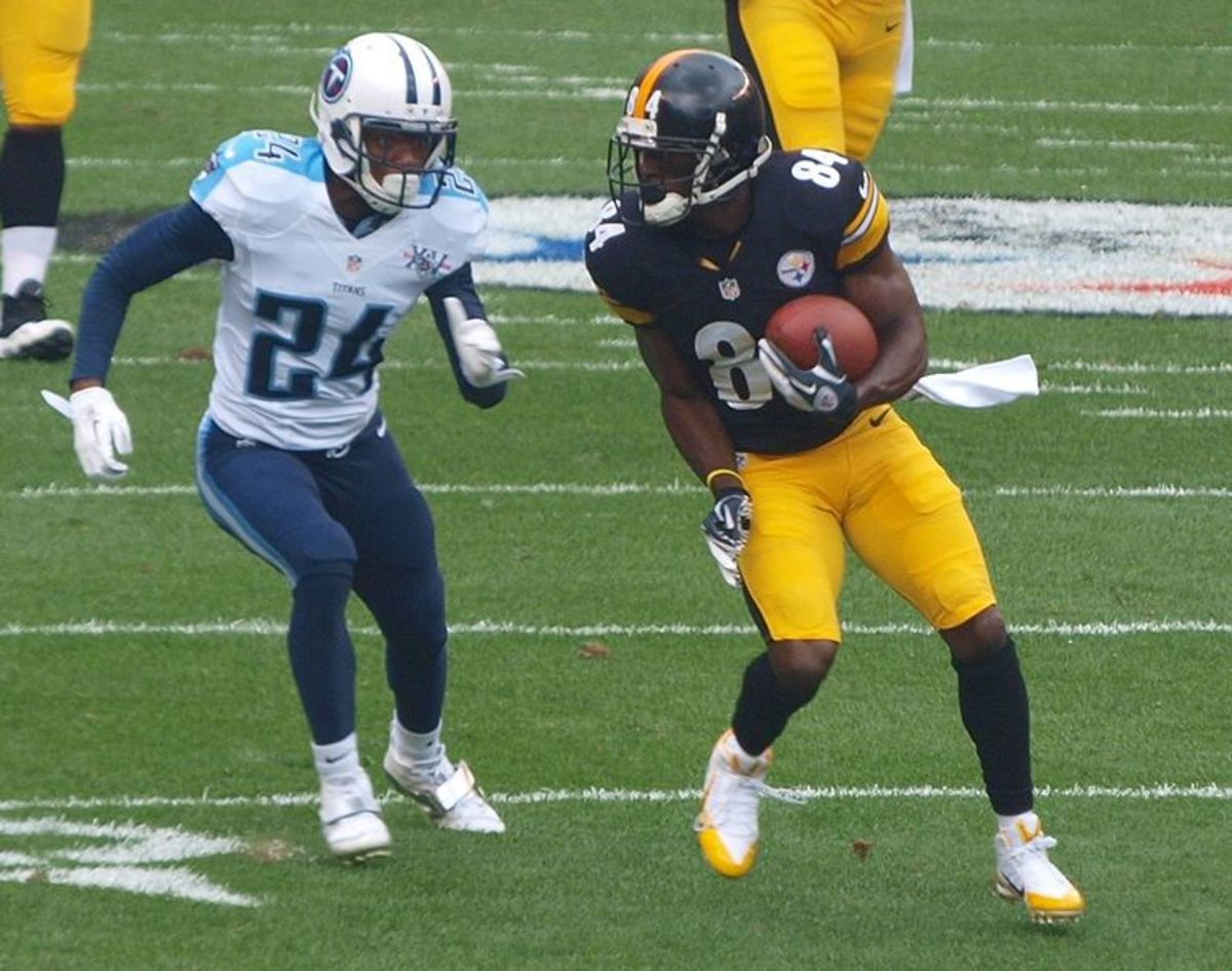 Antonio Brown may have broken every NFL career receiving record had he remained in the league.