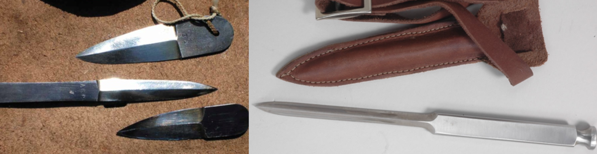 This article will discuss small, stealthy daggers that were used in World War II.
