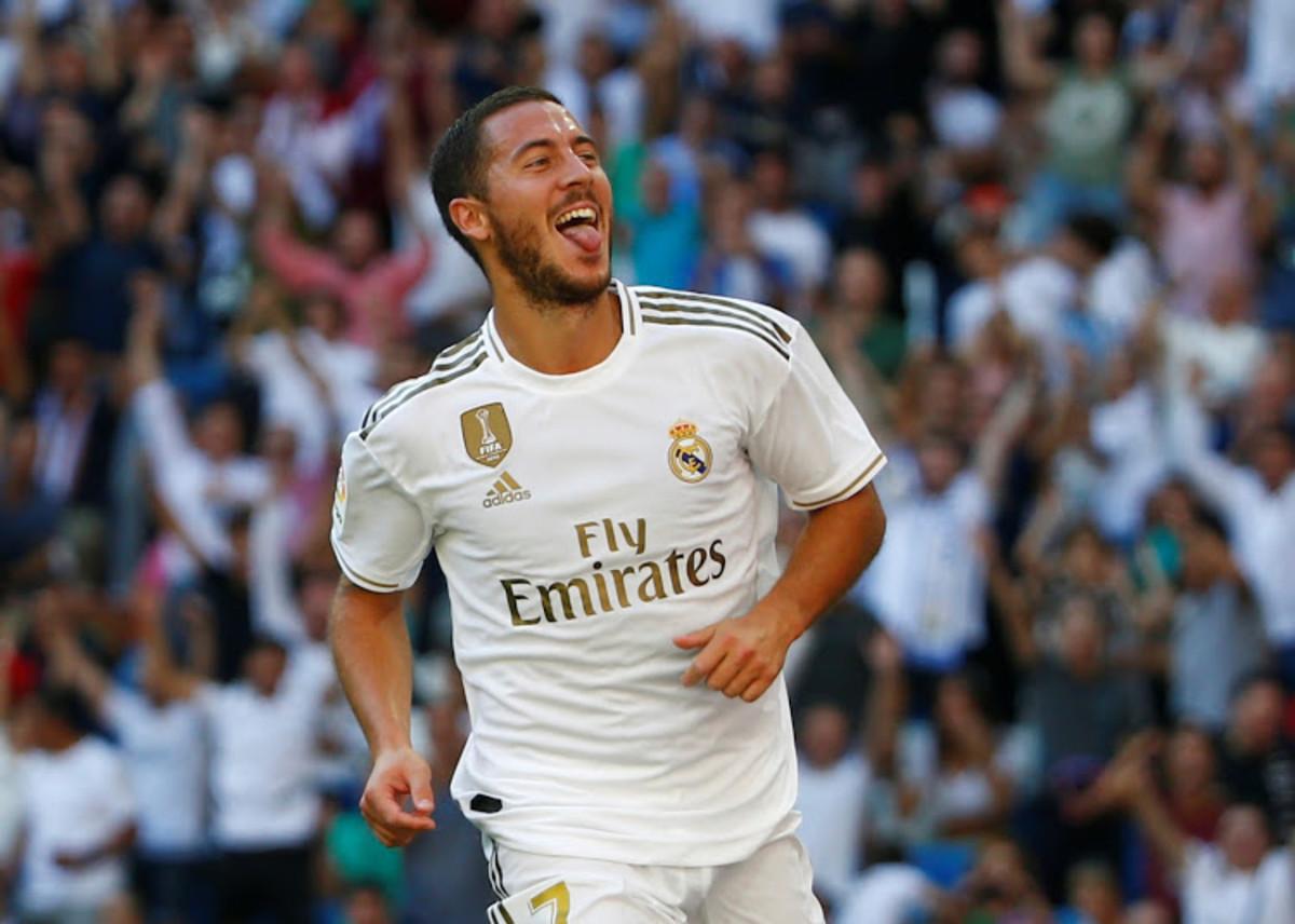 Hazard celebrates against Granada,
