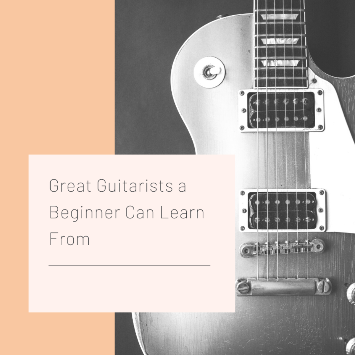These guitarists are great for any novice to learn from.