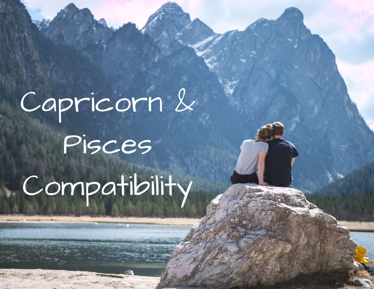 Just like land and water have coexisted for millions of years, Capricorn and Pisces can make for a long-lasting relationship.