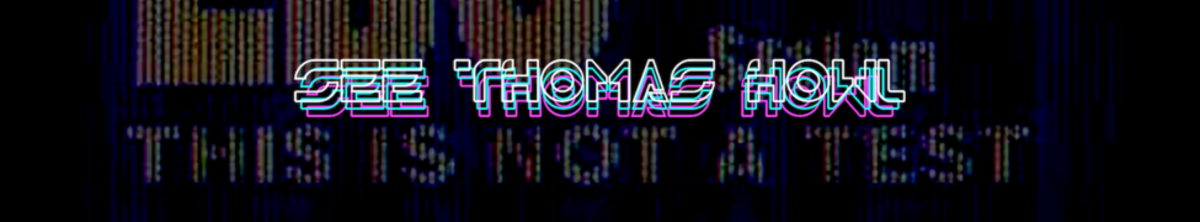 #Synthfam Interview: See Thomas Howl